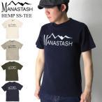 30%OFF!! (マナスタッシュ) MANASTASH ヘンプ Tシャツ クルーネックTシャツ