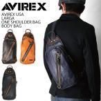 (アビレックス) AVIREX アヴィレックス ラルガ(LARGA)ワンショルダーバッグ ボディバッグ