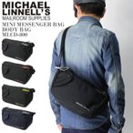 (マイケルリンネル) MICHAEL LINNELL ミニ メッセンジャーバッグ ボディバッグ メンズ レディース
