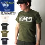 (グッドオン) Good On ショートスリーブ ロゴ Tシャツ カットソー 後染め