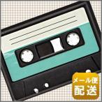 レトロ デザイン カセット テープ ブリキ ポストカード アンティーク