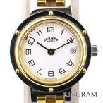 エルメス HERMES エルメスクリッパー Ref.CL4.220 クォーツ レディース 腕時計 k...