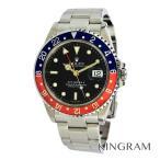 ロレックス ROLEX GMTマスター2  16710 赤青ベゼル K番 OH済 外装仕上げ済 自動巻 メンズ 腕時計 rib【中古】