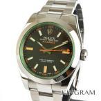 ロレックス ROLEX ミルガウス Ref.116400 G番 OH済 外装仕上げ済 自動巻 メンズ 腕時計 sm 【中古】