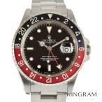 ロレックス GMTマスター2  16710 赤黒ベゼル 外装仕上げ済 OH済 自動巻  メンズ 腕時...