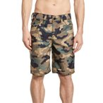 トゥルーレリジョン メンズ ハーフパンツ・ショーツ ボトムス True Religion Brand Jeans Ricky Relaxed Fit Camo Shorts