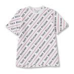 トゥルーレリジョン レディース シャツ トップス Coverstitch All-Over Print Short-Sleeve T-Shirt