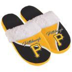 フォーエバーコレクティブルズ レディース サンダル シューズ Pittsburgh Pirates Women's Cursive Colorblock Slippers