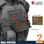 LBX タクティカル GRGポーチ 0095 モジュラープレートキャリア対応