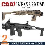 CAAタクティカル 実物 MICRO RONI G-3 グロック19/23/25/32 PDW CAATactical カービンコンバージョンキット