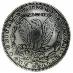 モルガンコンチョ レプリカ 1ドル硬貨 ワシ [ 通常ネジ ]