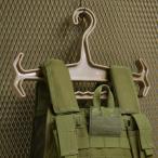 タクティカルハンガー ABS樹脂製 40cm バックパック/プレートキャリア/装備品用 [ タン ] ミリタリーハンガー 高耐久 ヘビーウェイト