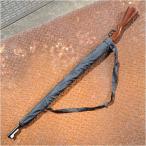 雨傘 ライフル アンブレラ 木製ストック調 8本骨 ミリタリー 長傘 かさ カサ