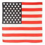 ROTHCO バンダナ アメリカ 星条旗 [ レッド&ホワイト / Sサイズ ]