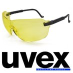UVEX サングラス スピットファイヤー イエロー ウベックス S1802 スポーツ アイウェア アイウエア 紫外線 UVカット グラサン