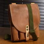 チェコ軍放出品 ショルダーバッグ フレアガン収納 レザー [ Aランク ] ハンドガン収納 ホルスターバッグ メッセンジャーバッグ かばん