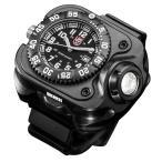 Yahoo!ミリタリーショップ レプズギアSUREFIRE 腕時計 ルミノックス LEDリストライト 2211-B-BK-LMX
