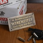 記念板 WINCHESTER アンティーク仕上げ 真鍮製プレート