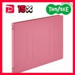 (まとめ)フラットファイル バインダー 2穴 E A4-E ピンク 10冊入 10パック