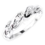 ショッピング15号 ポイント15倍 ダイヤリング 指輪ツイストリング 15号