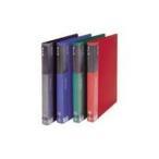 クリアファイル クリアケース 業務用5セット ビュートン リングクリヤーブック クリアブック RCB-A4-20 A4S 青