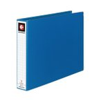 ショッピングクリア ポイント15倍,(まとめ) コクヨ データバインダーT(バースト用・ワイドタイプ) T11×Y15 22穴 450枚収容 青 EBT-551B 1冊 〔×5セット〕