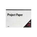 (まとめ) オキナ プロジェクトペーパー B4 5mm方眼 50枚 PPB45S 1冊 〔×15セット〕