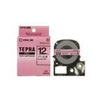 (業務用50セット) キングジム テプラ PROテープ/ラベルライター用テープ 〔パール/幅:12mm〕 SMP12R レッド(赤)