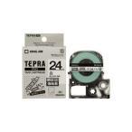 (業務用30セット) キングジム テプラ PROテープ/ラベルライター用テープ 〔強粘着/幅:24mm〕 SS24KW ホワイト(白)