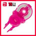 (まとめ) プラス 修正テープ ホワイパースライド交換用テープ 5mm幅×12m ピンク WH-115R-10P PK 1パック(10個) 〔×5セット〕