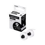 (まとめ)カシオ メモプリンター メモプリ付箋テープ 9mm幅×5m ホワイト XA-9WE 1パック(2個)〔×10セット〕