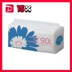 TANOSEE ゴミ袋 コンパクト乳白半透明 90L 1セット(300枚:50枚×6パック)