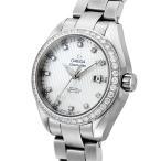オメガ OMEGA シーマスター アクアテラ 自動巻き レディース 腕時計 231.15.34.20.55.001 ホワイトパール ホワイトパール