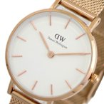 ダニエルウェリントン DANIEL WELLINGTON 腕時計 レディース DW00100219 クォーツ ピンクゴールド ホワイト