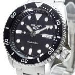 セイコー SEIKO 腕時計 メンズ SRPD55K1 自動巻き ブラック シルバー