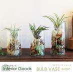 バルブベース BULB VASE 花瓶 ガラス 一輪挿し フラワーベース 水栽培 水耕栽培 ガーデニング テラリウム エアプランツ インテリア雑貨 切り花