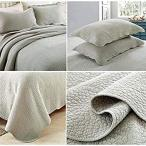 北欧ベッドカバー・アンティーク風綿100%ベッドスプレッド キング