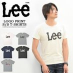 Lee リー ロゴプリント 半袖Tシャツ クルーネック メンズ レディース ユニセックス プリントTシャツ ロゴTシャツ BIGロゴ Lee LS7407