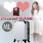 スーツケース ABS ポリカーボネイト軽量フレームキャリー 12701-12801-12901   ML-12801  ブラック