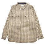 ショッピングNORTH 5 WHISTLE HOUND TOOTH SHIRT(BROWN) ファイブ ホイッスル ハーフジップシャツ North No Name ノースノーネーム