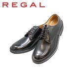 リーガルアウトレット ビジネスシューズ メンズ リーガル REGAL プレーントゥー JU13AG 黒 本革紳士靴