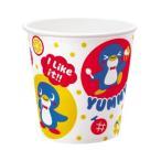 ★紙コップ★紙製かき氷カップ【フルーツペンギン】400ml(50個入) KOPU-10