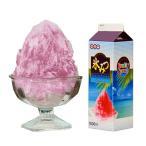 夏と言えばカキ氷!天然の着色料と甘味料を使用、EU規格適合品
