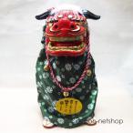お正月飾り『踊る獅子舞い・ノーマル(グリーン)』NY-O-01