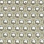 樹脂パール ビーズ ラウンド 2mm #109 無鉛ホワイト 1本 75cm 約375粒入り パールビーズ カラーパール