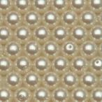 樹脂パール ビーズ ラウンド 8mm #108/M ライトグリーン 1本 75cm 約93粒入り パールビーズ カラーパール