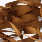 エンブロイダリーリボン 3.5mm ブラウン 9.14M巻 手芸 服飾 ラッピング リボン刺繍