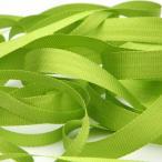 エンブロイダリーリボン 3.5mm レタスグリーン 9.14M巻 手芸 服飾 ラッピング リボン刺繍