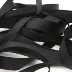 Fujiyama Ribbon エンブロイダリーリボン 3.5mm ブラック 9.14M巻 手芸 服飾 ラッピング リボン刺繍