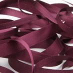 エンブロイダリーリボン 3.5mm バーガンディー 9.14M巻 手芸 服飾 ラッピング リボン刺繍